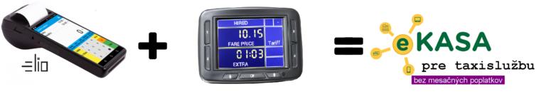 Prepojenie taxametra F4 a terminálu Elio